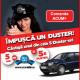Si tu poti castiga o Dacia Duster in numai cateva minute!