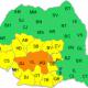 Cod portocaliu meteo pentru județul Dâmbovița
